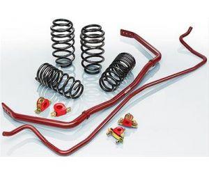Eibach Sport-Plus Kit for 09-15 Audi A4 Sedan B8 2.0 TFSI (inc 2WD, Quattro & Adaptive Suspension)